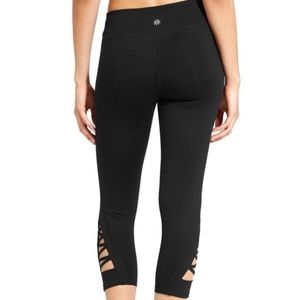 Athleta Black Crop Leggings